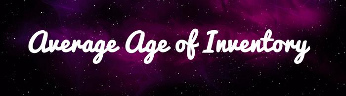 average age inventory