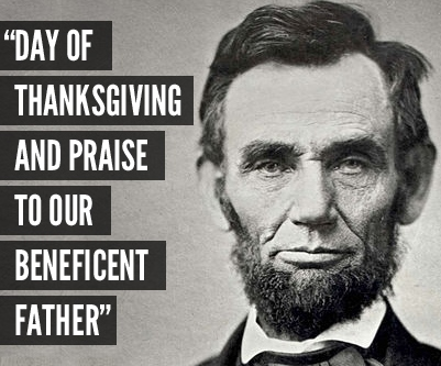Abraham Lincoln's Thanksgiving Proclamation in 1863