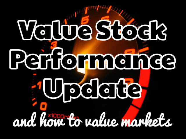 2015 Q3 Value Performance Update and How I Value Markets